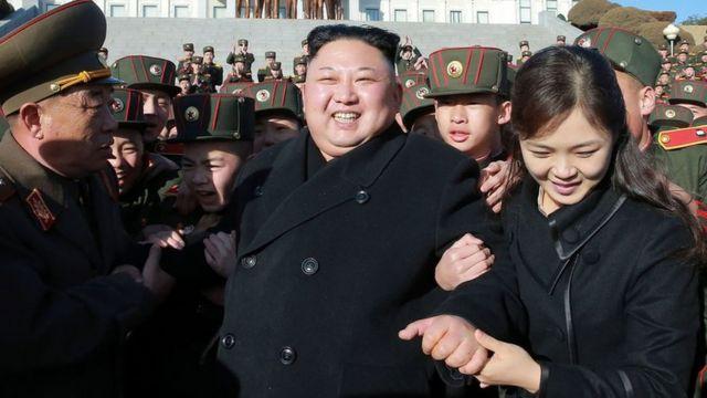 คิม จอง อึนและภริยา
