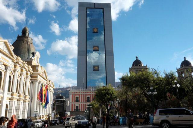 Nuevo palacio de Bolivia
