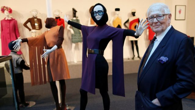 Pierre Cardin and his designs