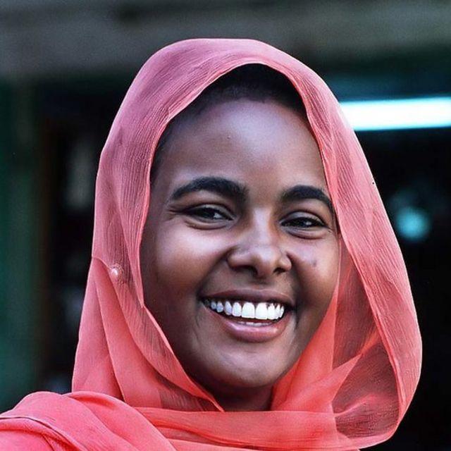 Hoton wata matashiyar Sudan