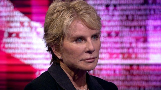 Patricia Cornwell, author