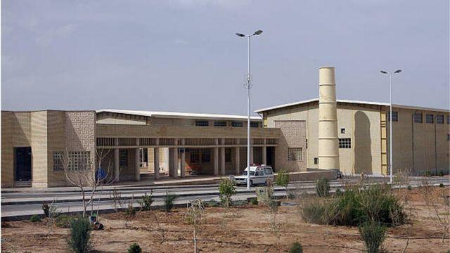 محطة نظنز لتخصيب اليورانيوم في إيران