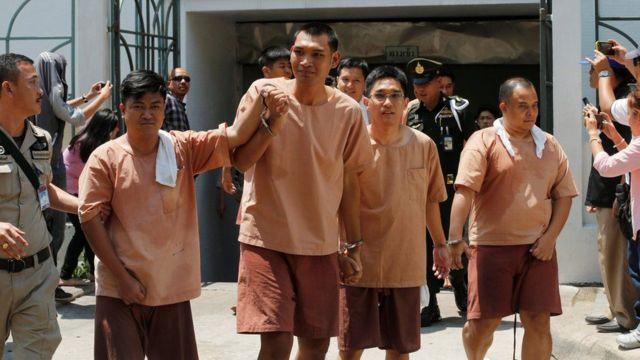 Detidos na Tailândia