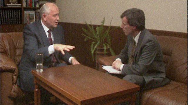 Ангус Роксборо и Горбачев