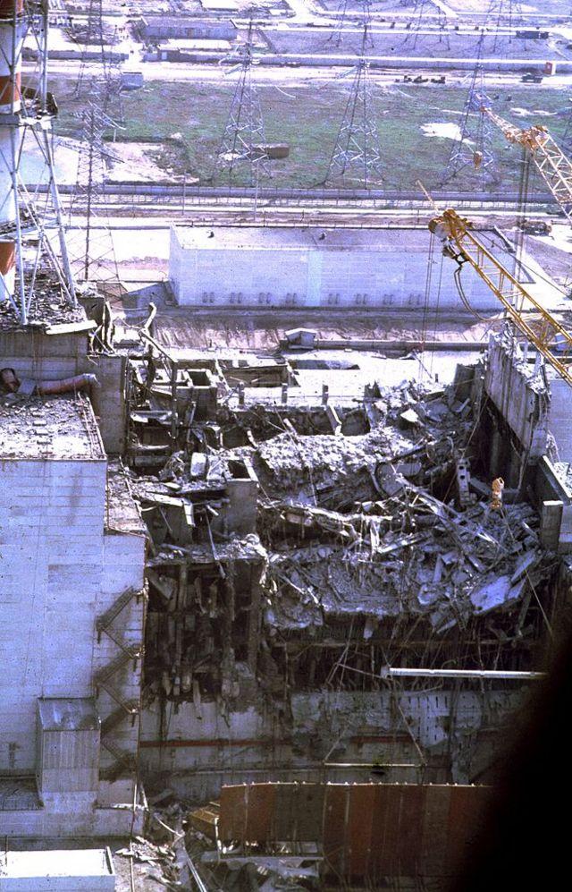 Залишки 4 реактора