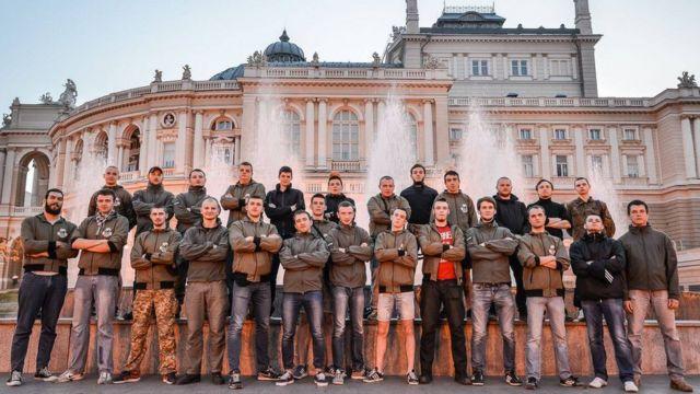 """С14 (""""Січ"""") - група, яка декларує боротьбу проти сепаратизму у далеких від фронту містах"""