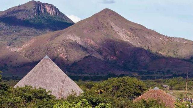 Territorio indígena Raposa Serra do Sol, en Roraima.