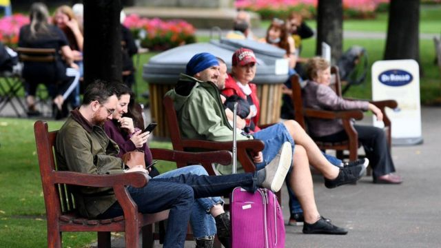 Covid Restrictions On Travel And Outdoor Meetings Eased In Scotland