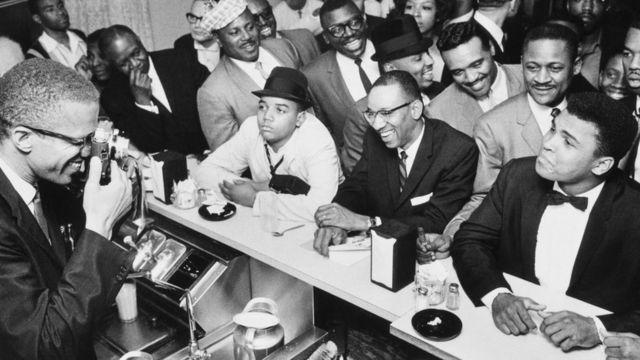 لقد التقى أكس وكلاي وكوك وبراون في ميامي فعلا في فبراير/شباط 1964