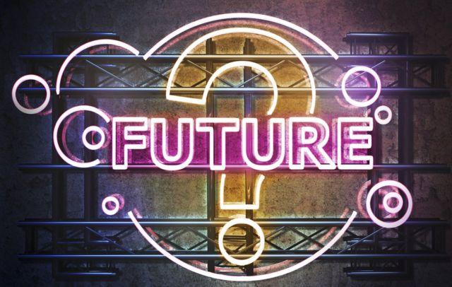 """Signo de interrogación y la palabra """"Future"""""""