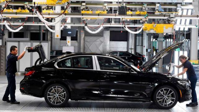 Fábrica de BMW en México.