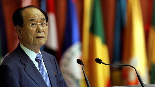 کیم یونگ نام، رئیس شورای مجمع عالی خلق کره شمالی