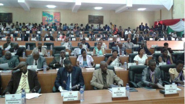 Députés, Burundi