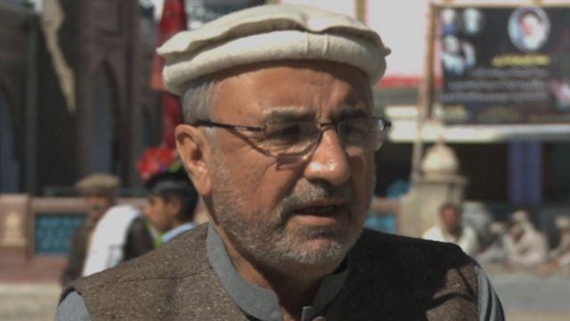انجمن حسینیہ کے سیکرٹری حاجی فقیر حسن