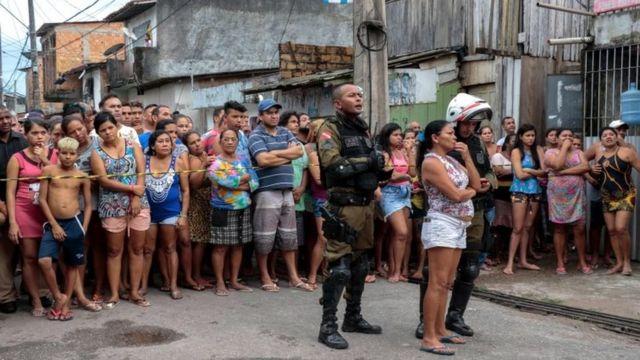 Brazil violence: Gunmen kill 11 people in bar in Belém