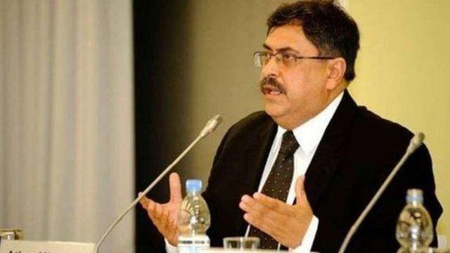 इस्लामाबाद हाई कोर्ट के चीफ़ जस्टिस अतहर मिनाल्लाह