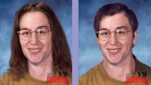 北米失踪者ネットワークに掲載されている、エドター・ラトゥリップさんの似顔絵