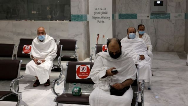 Hajj 2021 live pictures from Mecca as pilgrims dey dia for di holy  pilgrimage with masks and social distance - BBC News Pidgin