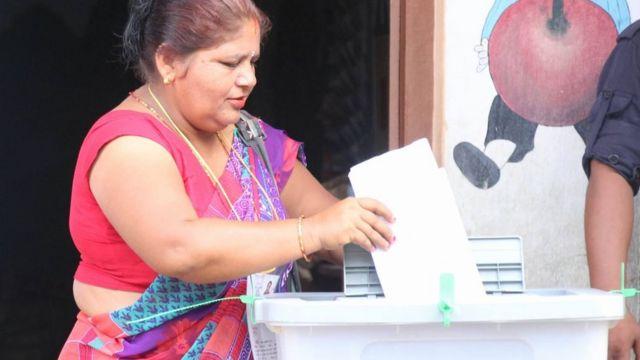 सिराहकी एक मतदाता