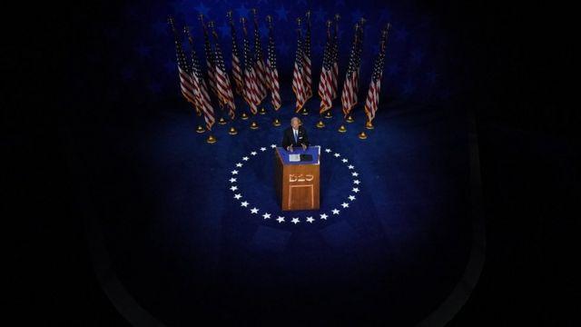 Joe Biden acepta la nominación del Partido Demócrata