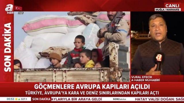 در فوریه ۲۰۲۰ تعداد نسبتا کمی از مهاجران سوری سعی کردند از مرز ترکیه به سمت یونان بروند