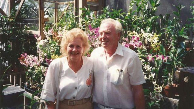 تد و همسرش آنت