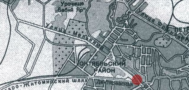 мапа Києва
