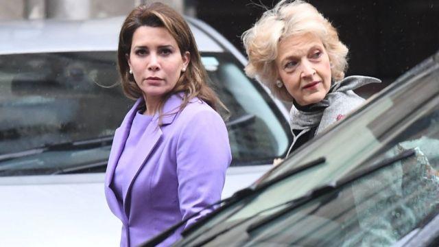 Принцесса Хайя и баронесса Фиона Шеклтон