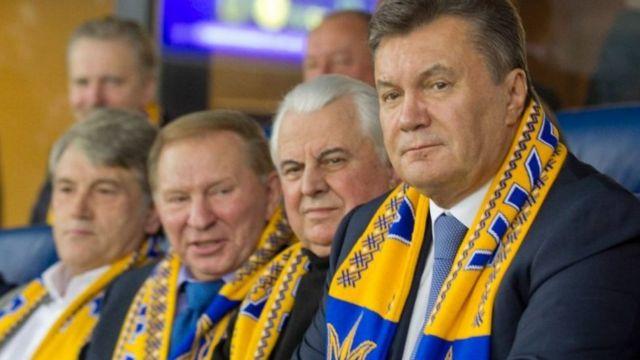 Чотири президенти України