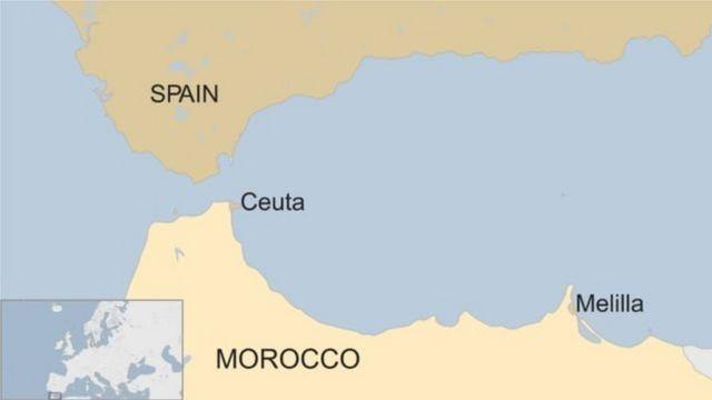 Ceuta et Melilia