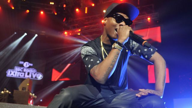 Wizkid performing at the Brixton Academy in 2012
