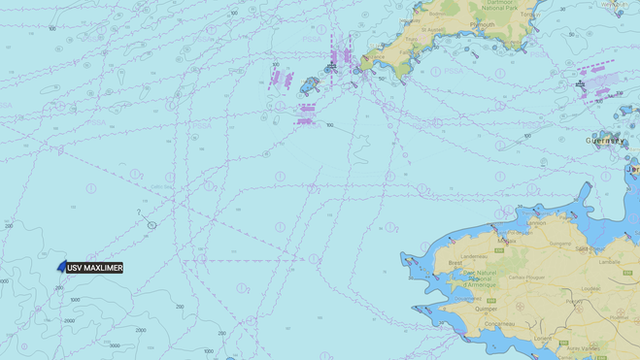 Map of Atlantic