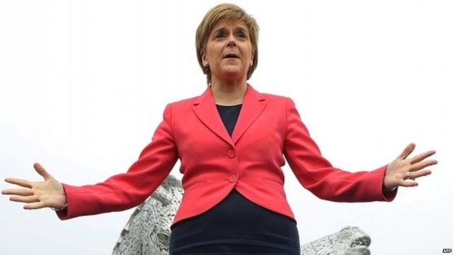 Nicola Sturgeon, a primeira-ministra escocesa