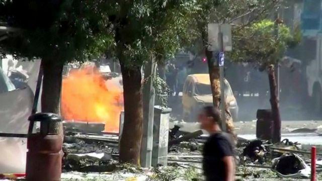 तुर्की में कार में बम विस्फोट