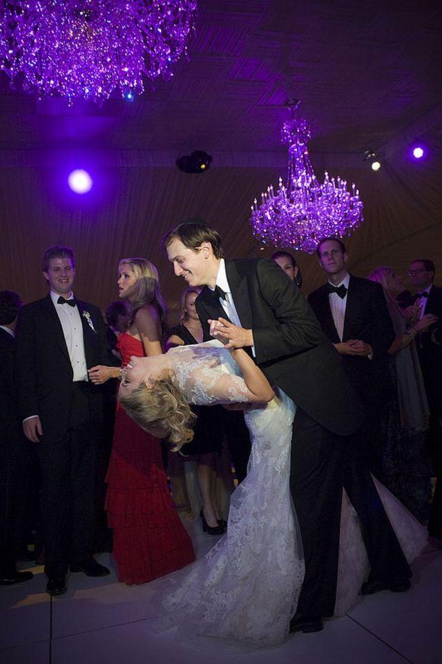 Ivanka y Jared Kushner, en su baile de boda en 2009.