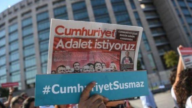 Cumhuriyet gazetesi sanıkları için 7,5 yıldan 43 yıla kadar hapis isteniyor