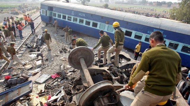 कानपुर ट्रेन हादसा