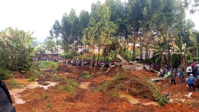 Land slide for Bafoussam West region