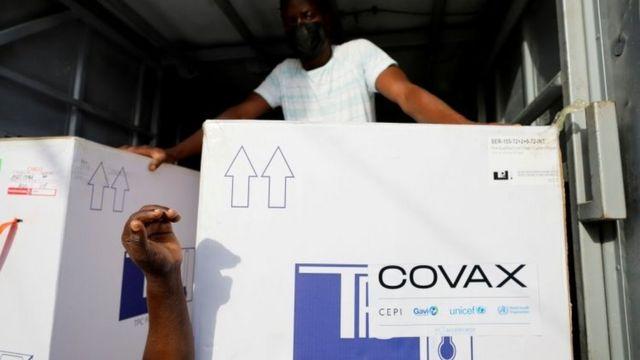 Distribuição de vacinas via Covax Facility no Congo