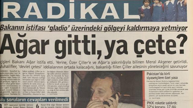 Ağar'ın istifası sonrası yerine Merak Akşener geldi.