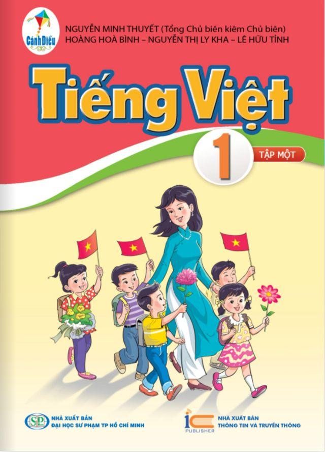 Sách Tiếng Việt lớp 1 bộ Cánh Diều