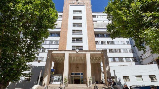 Hospital Cosme Argerich de Buenos Aires.
