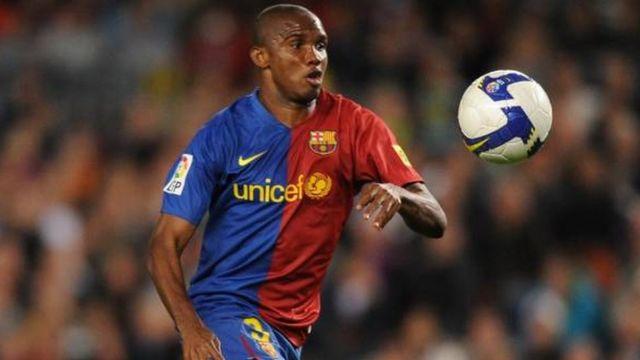 Samuel Eto'o fils, ancien joueur du FC Barcelone