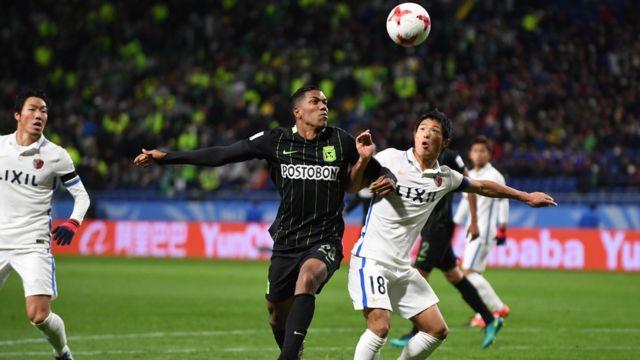 Kashima Antlers a battu en demi-finale la formation colombienne de l'Atletico Nacional.