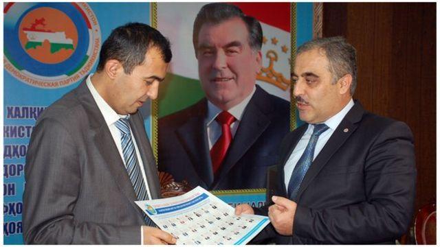 عبدالرحمان خانزاده، رئیس دفتر حزب خلق دموکرات تاجیکستان