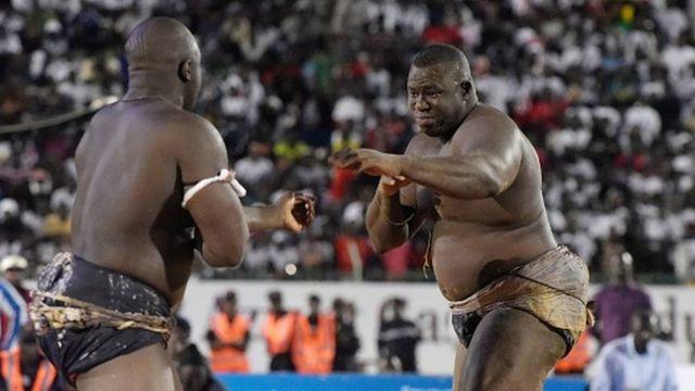 Lors de son dernier combat à Dakar