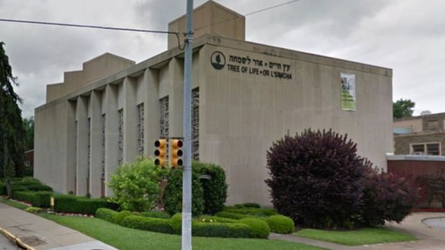 Di Tree of Life Congregation Synagogue inside Pittsburgh