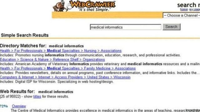 गूगल, वेब क्रॉलर