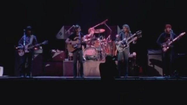Eagles on stage