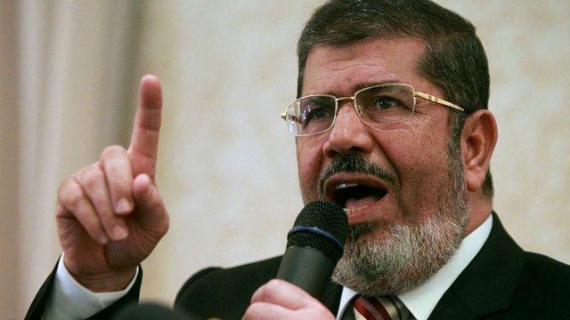 Mohammed Morsi mwaka 2012